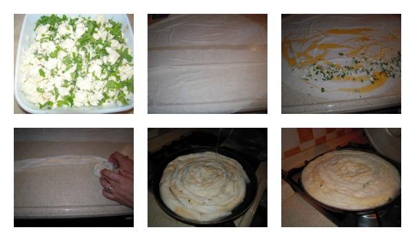 Hazır Yufkadan Peynirli Su Böreği