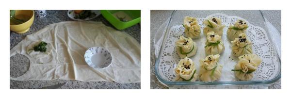 Ispanaklı Bohça Böreği