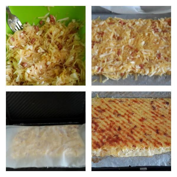 Sucuklu Patates Tostu