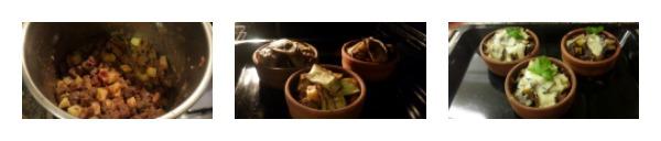 Güveçte Porsiyonlu Zade Kebabı