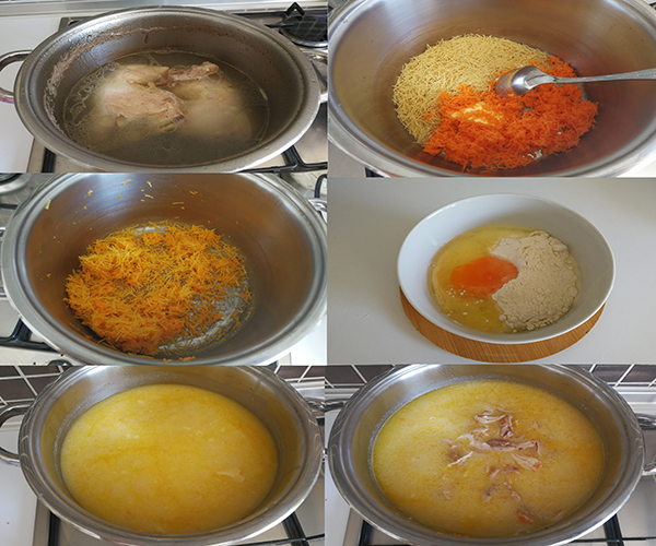 Terbiyeli Şehriyeli Tavuk Çorbası